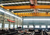 Single Beam Travel Overhead Crane, Headroom Bridge Crane Rendah Dengan End Carriages