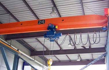 5 ~ 20 T Jembatan Girder Single Industri Crane, Electric Hoist Overhead Crane