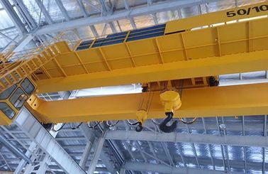 25 Ton Double Girder Overhead Crane, Twin Trolley Double Beam Bridge Crane