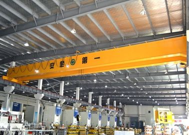 Double Girder Bridge Crane Dengan Electric Hoist Trolley, Crane Workstation Crane